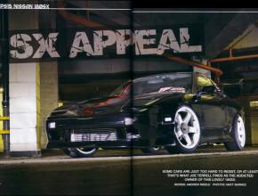 Nissan 180sx in Banzai magazine
