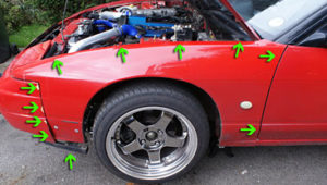 how to relocate s13 wiring loom