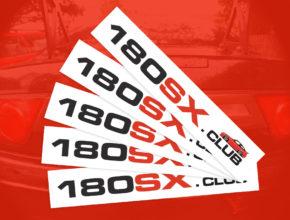 Free 180sx Club stickers