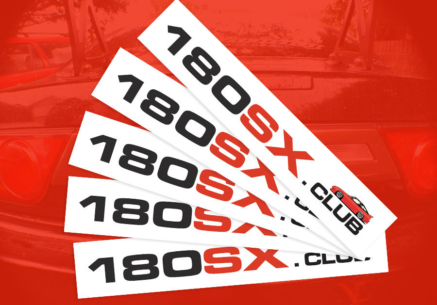 Free 180sx Club stickers