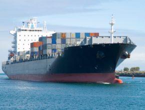 Japanese car import on boat