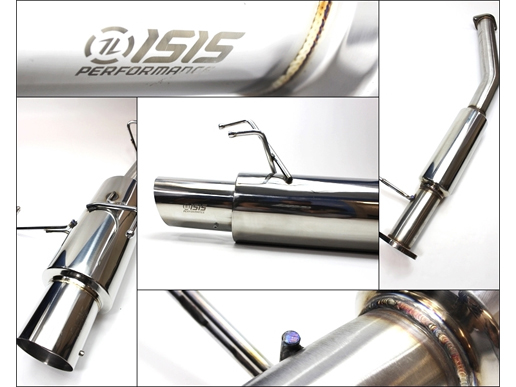 ISR Performance Single GT Cat-back S13 Exhaust (Nissan S13)