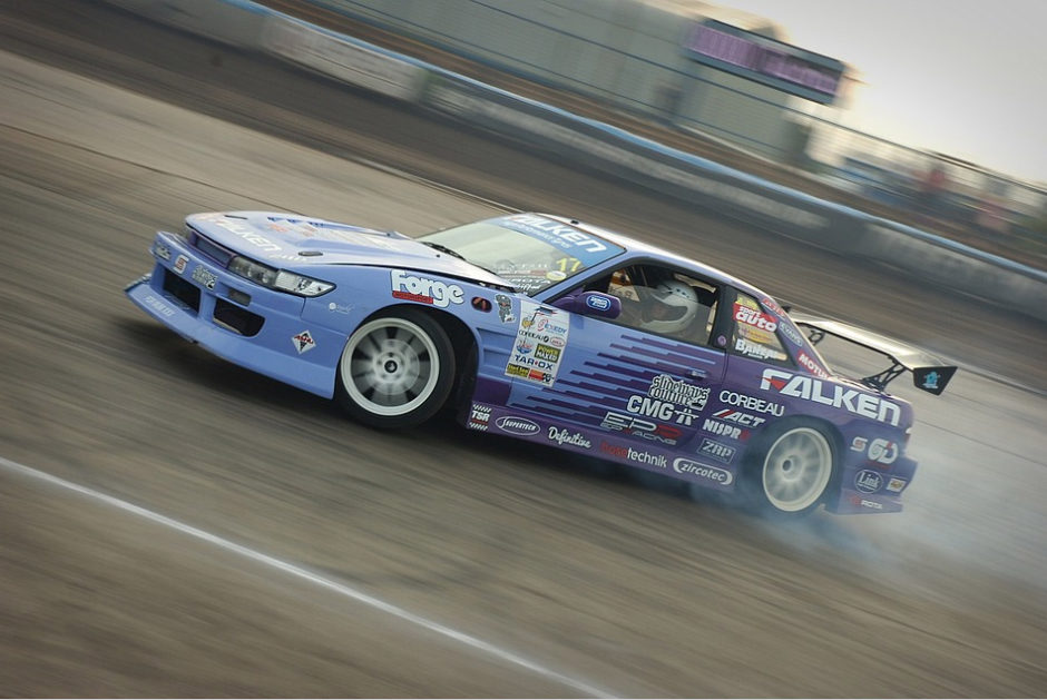 Nissan Silvia PS13 drifting