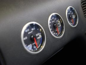 Defi gauges in 180sx