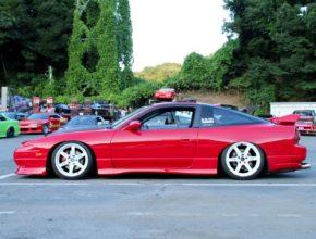 Nissan 180sx red kouki conversion
