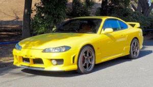 silvia s15 yellow