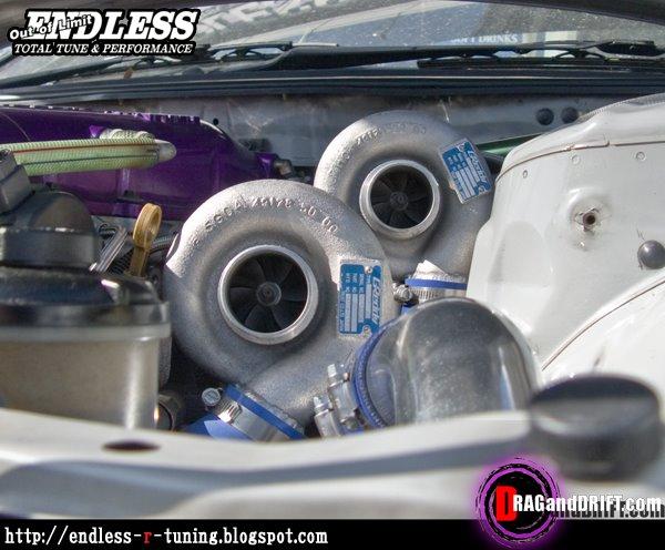 endless sr20det twin turbo kit
