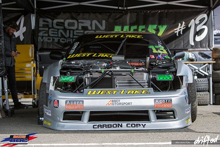 tuned 180sx drift car