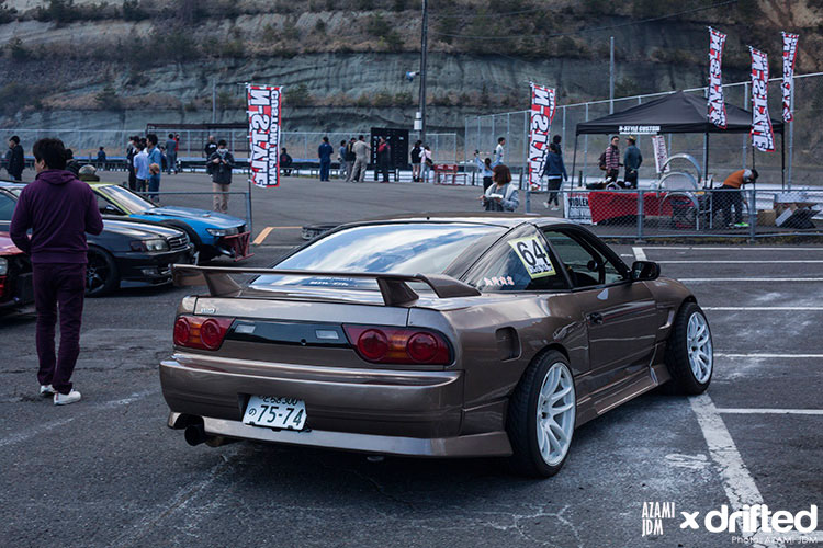 parked 180sx in japan