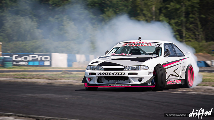 240sx s14 zenki drifting