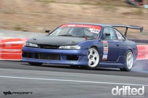 240sx s14a drifting