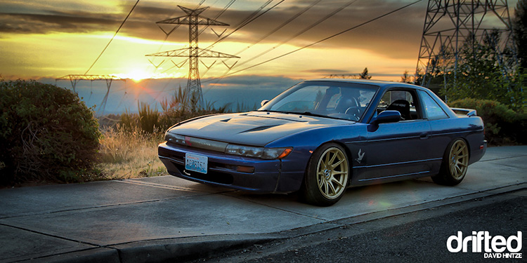 clean nissan silvia ps13