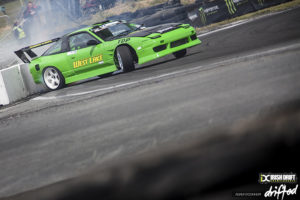 green kouki 180sx rear entry