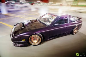 purple nissan 180sx type x